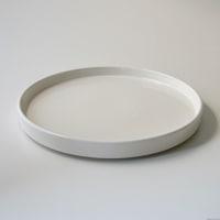 moderato モデラート/プレート(丸型)/ホワイト/Sφ135mm