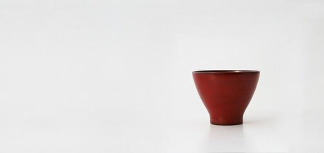 キリモト 桐本木工所/輪島塗 漆器/すぎ椀 小 朱  [ お碗 お椀 汁椀 漆器 漆 椀 碗 木製 木 ]