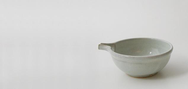 岩手 久慈 小久慈焼|片口11cm [ NHK「あまちゃん」で実際に使用 ]