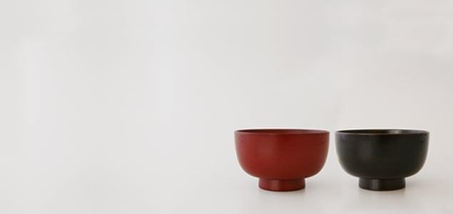 岩手 浄法寺塗/浄法寺椀 溜/小 [お碗 お椀 汁椀 漆器 漆 椀 碗 木製 木]