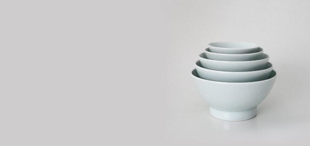 岩手の磁器 食器/どんぶり/くらわんか/飯碗4.5寸 [ 岩手の磁器製食器/どんぶり ]