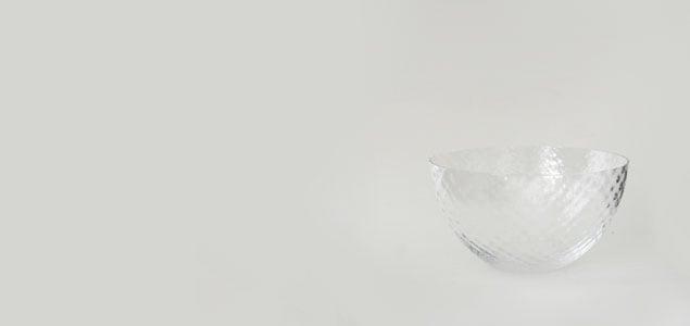 松徳硝子/ガラス ボウル・ボール/8-hachi [そうめん 器 ガラス 素麺の器は松徳硝子]