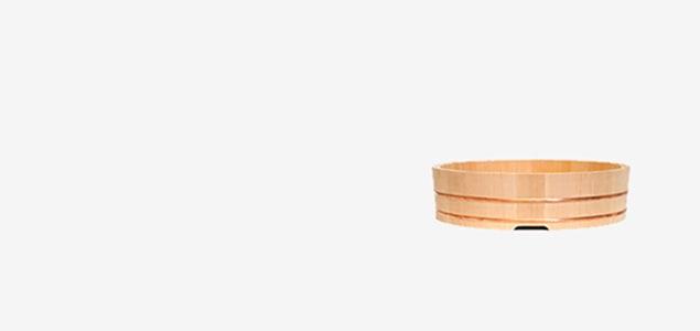 樹齢百年をこえる木曾椹で作られた 東屋/飯台(寿司桶)