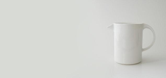 セラミックジャパン / Moderato モデラート/ティーポット/ホワイト<br>