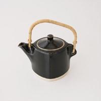 柳宗理/出西窯/黒土瓶・急須・ティーポット [出西窯/土瓶・急須・ティーポットは柳宗理]