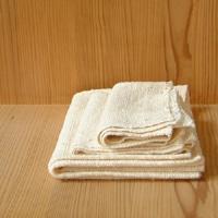 びわこふきん・フキン・布巾 タオル/ 白[びわこふきん・フキン・布巾でアトピー 石鹸不要]