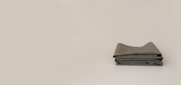 南部炭染めふきん・フキン・布巾 【ネコポス対応可】[消臭・抗菌効果の南部炭染めふきん・フキン・布巾][ネコポス便 1/10]
