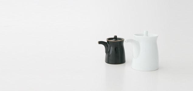 白山陶器 森正洋/醤油さし 大/天目 [森正洋/醤油さしは白山陶器]