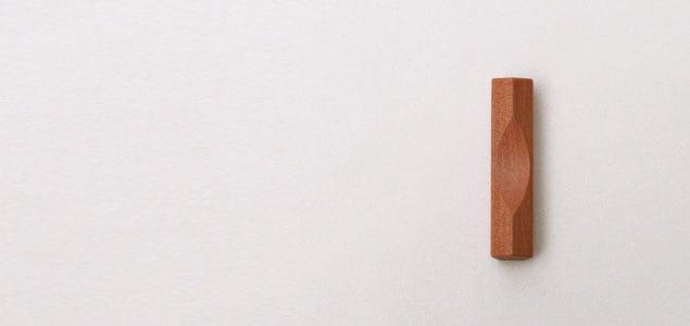 岩手オノオレカンバ 五角 箸置き【ネコポス対応可】[ネコポス便 1/20] [ギフトには天然木の箸置き・カトラリーレスト/おしゃれなはしおき・カトラリーレストはギフトにも]