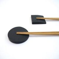 宮城 雄勝石/SUZURI/箸置き 丸