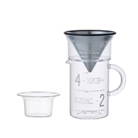 KINTO キントー/SLOW COFFEE STYLE コーヒージャグ・ドリッパーセット 300ml [ フィルター不要のコーヒードリッパーセットはKINTO ]