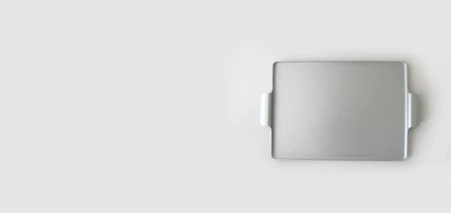 KAYMET ケイメット/トレイ/ブラック No.706[ 北欧テーブルウェアにぴったりのアルミトレイ ]
