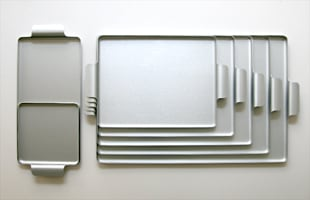 KAYMET ケイメット/トレイ/シルバー No.517[ 北欧テーブルウェアにぴったりのアルミトレイ ]