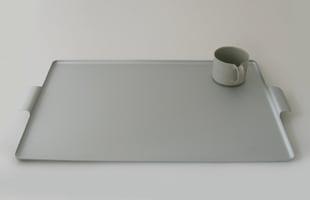 KAYMET ケイメット/トレイ/シルバー No.519[ 北欧テーブルウェアにぴったりのアルミトレイ ]