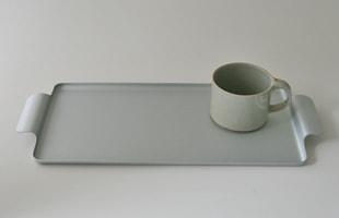 KAYMET ケイメット/トレイ/シルバー No.713[ 北欧テーブルウェアにぴったりのアルミトレイ ]