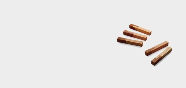 asahineko 小泉誠・村澤一晃デザインの箸置き・ナイフレストセット