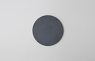 mortar/コースター/Circle φ100/Sumi Black