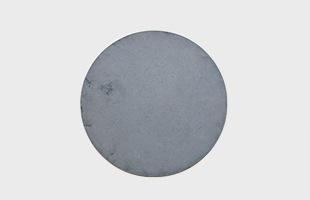 mortar ランチョンマット Circle φ400 Sumi Black
