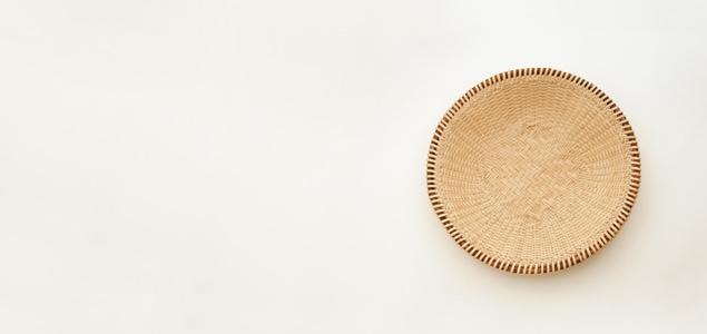 奥会津 マタタビ 蕎麦ざる 23cm [そうめん 器 素麺]
