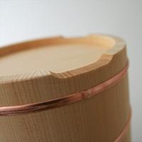 東屋/木曽さわら/おひつ・お櫃 木製/3合用[木製 おひつ・お櫃/3合用は東屋]