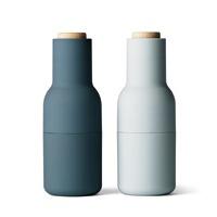 menu ソルト&ペッパーミル Bottle Grinder (ボトルグラインダー) Small set アッシュ&カーボン  [ 胡椒・ペッパーミルは北欧menuのbottle grinder ]