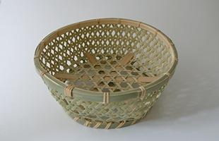 国産 真竹 椀かご 丸型