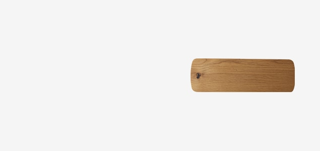 持ち手のカーブに木のぬくもりを感じられる ヨシタ手工業デザイン室 チーズボード
