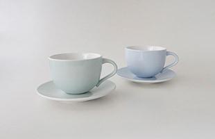 Emma ソーサー(2pセット)は同じEmmaシリーズのマグやカップと組み合わせてご使用頂けます