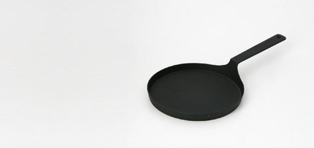 南部鉄器 フライパン 鉄/釜定 シャロウパン[堀井和子さん推薦,南部鉄器フライパン/パンケーキパン]