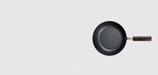 鉄 フライパン φ20(浅型)/FD STYLE/IH対応 [ スピニング加工による軽量化/IH対応 鉄フライパン]