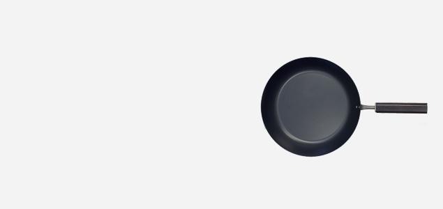鉄 フライパン φ24(浅型)/FD STYLE/IH対応 [ スピニング加工による軽量化/IH対応 鉄フライパン]