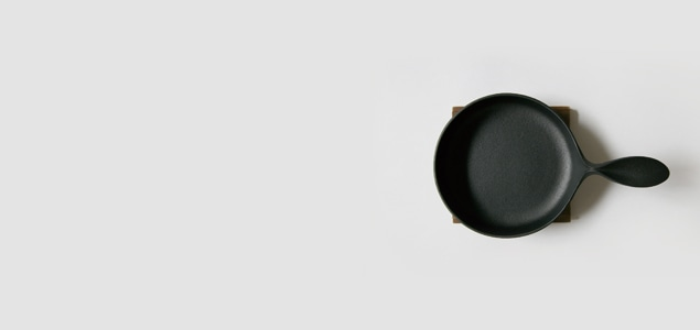 南部鉄器/ フライパン 鉄 /小笠原陸兆 ミニパン大(ふた無し) [ 鉄 フライパン ihは南部鉄器]