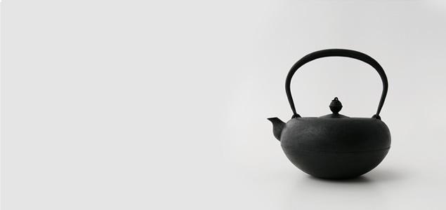 南部鉄器/南部 鉄瓶/釜定/姥口 小姥口 [南部鉄器/南部 鉄瓶は釜定]