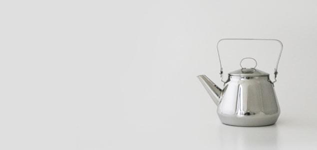 ケトル/やかん/opaオパ社/Mari ステンレス ケトル 0.5L [北欧/かもめ食堂/やかん おしゃれ ドリップケトル ih対応]