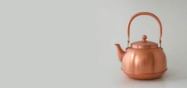 東屋/銅之薬缶(どうのやかん)/ケトル [ドリップにもおすすめ 日本製 銅のやかん/ドリップ可能な日本製2Lケトル]