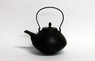 南部鉄瓶/釜定/小紋様あられ