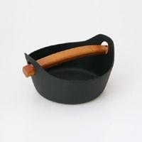 南部鉄器/釜定/鉄鍋・洋鍋 大/四〜五人鍋 [南部鉄器/鉄鍋は釜定]
