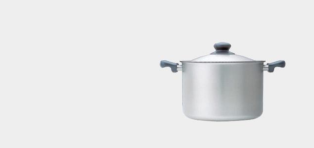 柳宗理/両手鍋/22cmステンレス両手鍋(浅型)