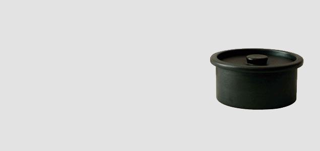 ambai/小泉誠がデザインするih対応の炊飯土鍋