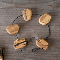 RetRe リツリ/虫喰い木材の鍋敷き ブロック [RetRe リツリ/虫喰い木材の鍋敷き・ポットホルダー・鍋しき/おしゃれな北欧風鍋しき]