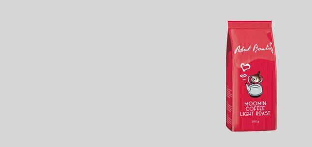 ロバーツコーヒー/ムーミンパッケージ/リトルミィ ライトロースト<br> [ロバーツコーヒーのムーミン コーヒー]