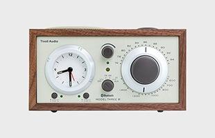 Tivoli Audio Model Three BT Generation2 Walnut Beige