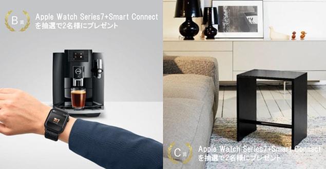 購入者特典。SmartConnectは簡単に設置出来、スマートフォンやタブレットからコーヒーマシンを簡単に操作できるようになります。