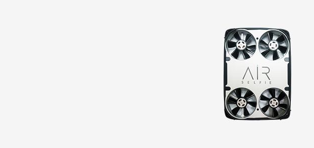 500万画素のカメラを搭載 イタリア人デザイナーが手掛けるアルミニウム製カメラ付小型ドローンAirselfie(エアセルフィー)
