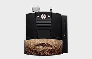 コーヒーホッパーの容量が1kgあり、1日の抽出量が多くても、こまめにコーヒー豆を補充する手間が省けます。ワンタッチで簡単にリンスとクリーニング操作ができ、毎日のマシンメンテナンスが最小限の動作で可能なのも嬉しいところです