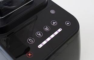 見やすいアイコンが付いた直観的なタッチスクリーンにより前機種よりも格段に使いやすくなりました