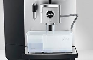 ミルクシステムの清掃も自動化され、ボタンを押すだけで自動的にクリーニングが開始します