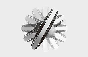 流体力学を応用した独自の羽根と360°全方位回るヘッドで部屋のどこにいてもDCモーターの自然な風が届けます