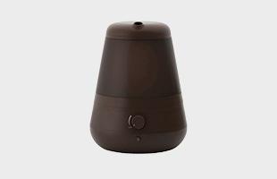 超音波加湿器C011 ブラウン