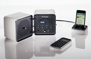 brionvega/Radiocubo.it/インターネットラジオ対応スピーカー